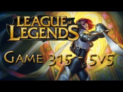 LoL Game 315 - 5v5 - Fiora - 1/2