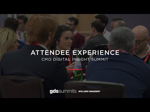 CMO Digital Insight Summit Europe - Attendee Experience