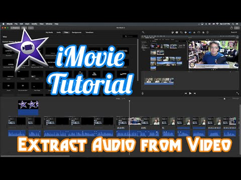 iMovie Tutorial - How Extract Audio From Video