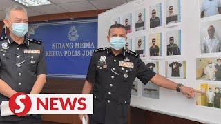 Cops cripple 'Geng 21' in Johor