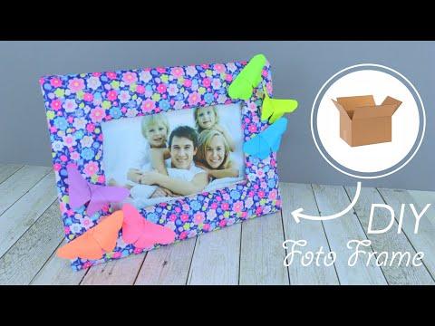 Рамка из картона для фотографии своими руками из картона