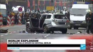 Berlin explosion: Car bomb kills driver in central Berlin