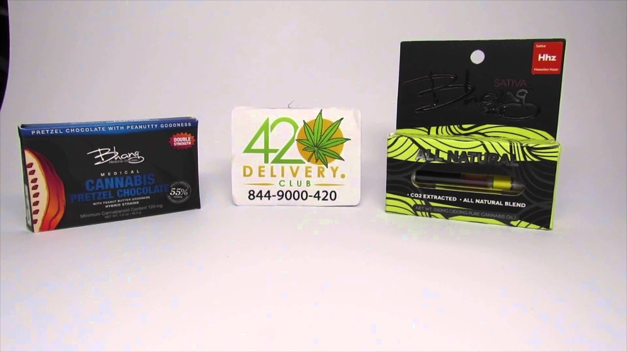 Bhang Pure Oil Cartridge Review - 420 Delivery Club - YouTube