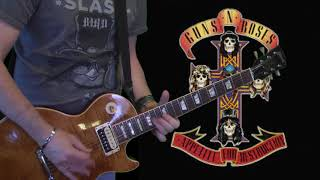 Gambar cover Guns N' Roses  - Anything Goes (guitar cover) with Gibson Les Paul Slash AFD!!