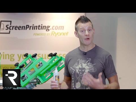 Avoid Dye Migration By Screen Printing With Green Galaxy Gamma Blocker Black