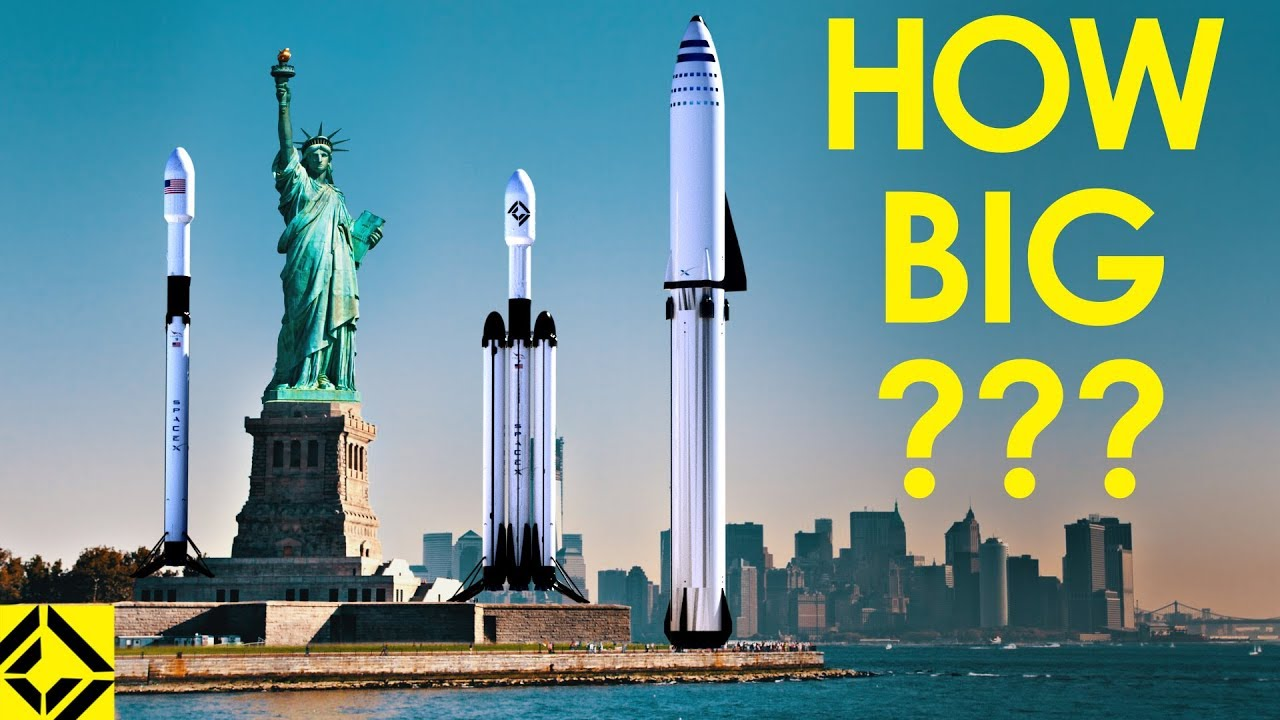 Here's a Great Video Showing the Size of SpaceX's Rockets