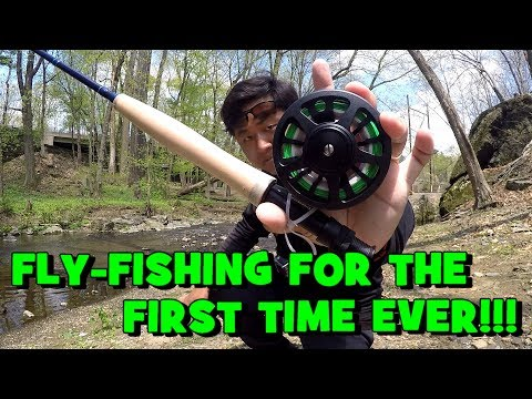 I Went FLY FISHING For The FIRST TIME EVER!!! (Embarassing? You Decide...Lol)