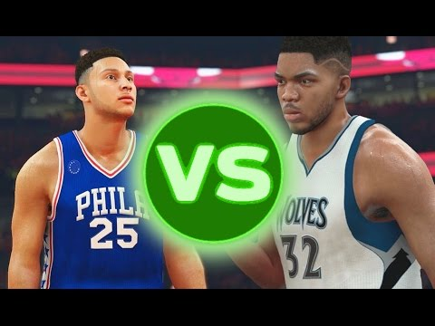 2015 NBA Draft VS 2016 NBA Draft | NBA 2K17 Challenge