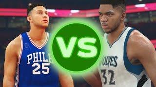 2015 NBA Draft VS 2016 NBA Draft | NBA 2K17 Challenge
