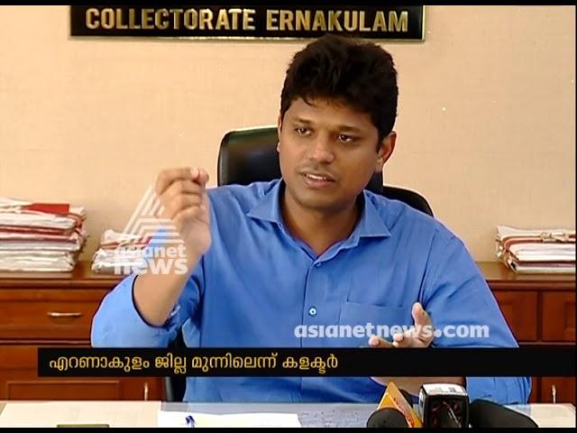Ernakulam district leads in flood relief program