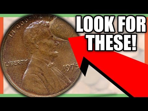 1975 LINCOLN PENNY WORTH MONEY  RARE PENNIES TO LOOK FOR!!