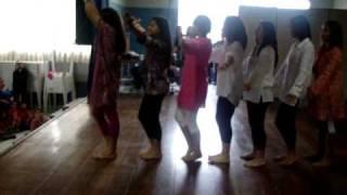 Video Caminho das indias coreografia