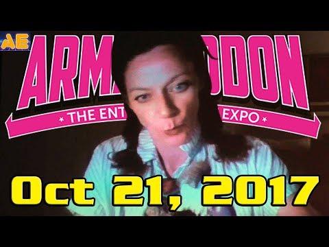 Armageddon Auckland 2017  Day 3 feat. John Barrowman, Michelle Gomez & David Blue