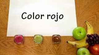 Pintura hechas con pigmentos de frutas y verduras