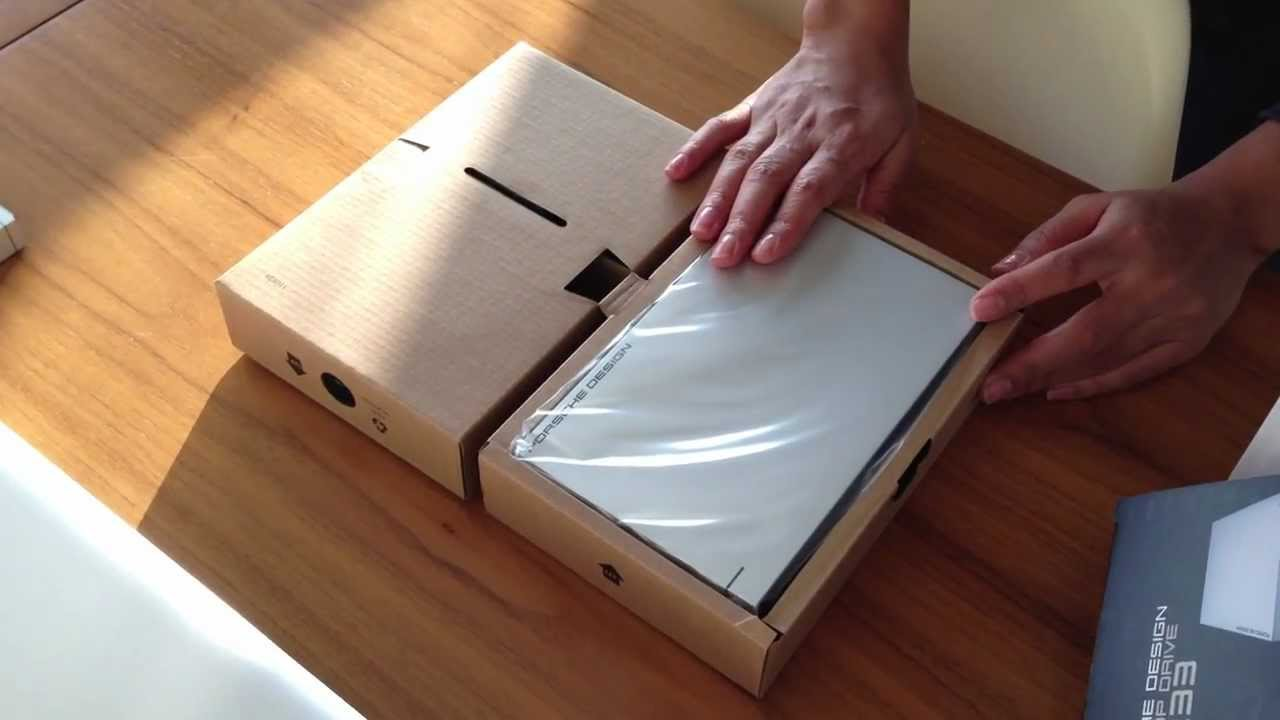 Unboxing - Porsche Design P′9233 - Part 2 - YouTube