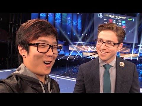 Backstage At Worlds Ft. Dash /ALL Chat [League Of Legends]