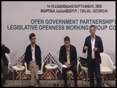 OGP/LOWG CONFERENCE, Day 2, Session 1, Lightning Talks: Legislative Openness Tools (09:00–10:30)