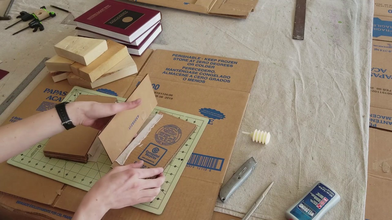 Bookbinding cardboard: characteristics and application 79