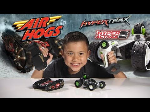 Air Hogs HYPERTRAX & HYPERACTIVES 5 - Extreme RC Vehicles!