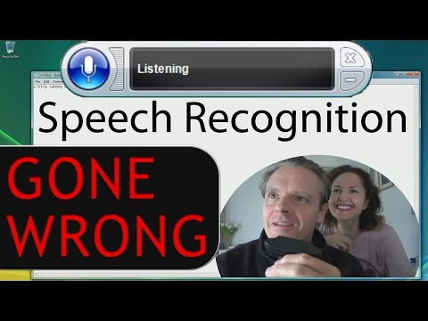 Dad Tries Out Windows Vista Speech Recognition (2007)