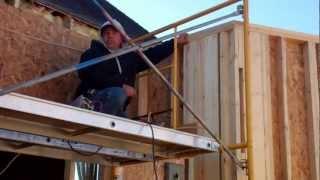 Garage Wall And Roof Framing -  Dan's Dream Garage Built By Stebnitz Builders