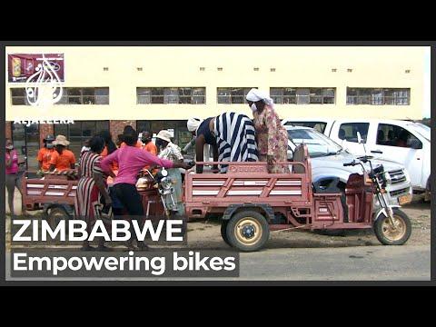 Zimbabwe's electric bike scheme helps women do business