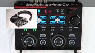 RC-202 Quick Start chapter11 : Loop Performances Using Rhythm