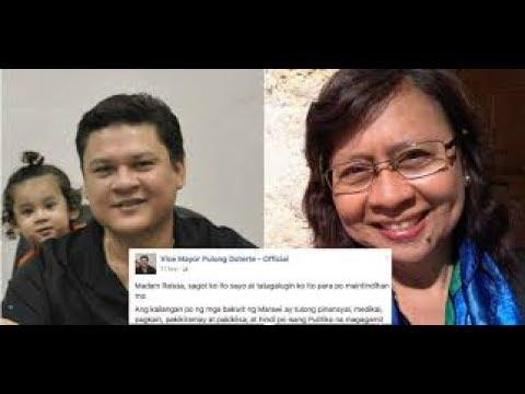 RAISSA SUNOG NA NAMAN! --Davao Vice Mayor Paolo Duterte answered the journalist Raissa Robles' tweet