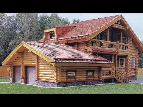 Проекты домов из оцилиндрованного бревна