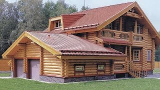видео Дома деревянные эконом класса – виды проектов и цены