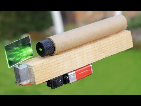 Cool ideas With Laser (DIY Project Ideas)