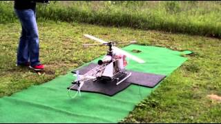 Alouette  2 turbine Vario.mp4