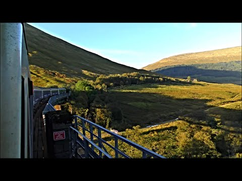 Caledonian Sleeper To Fort William - The Beautiful West Highland Line
