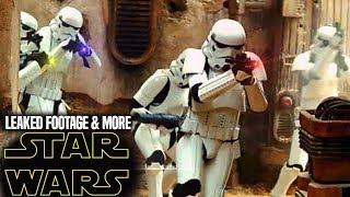 Star Wars TV Series Leaked Footage Revealed & More! (Star Wars News)