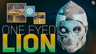 One-Eyed Mask Exotic + Fighting Lion Catalyst (One-Eyed Lion) Titan Build | Destiny 2 Forsaken