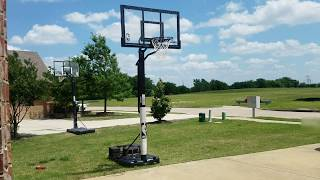 "Spalding 60"" Basketball Goal Review"