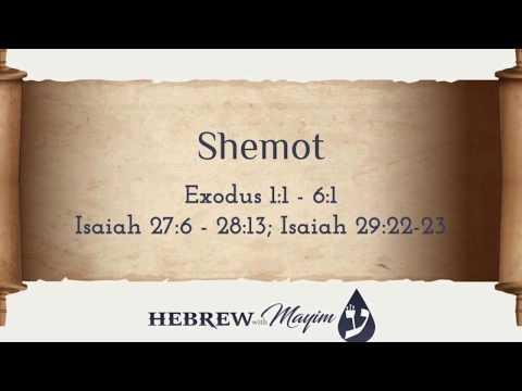 13 Shemot, Aliyah 2 - Learn Biblical Hebrew