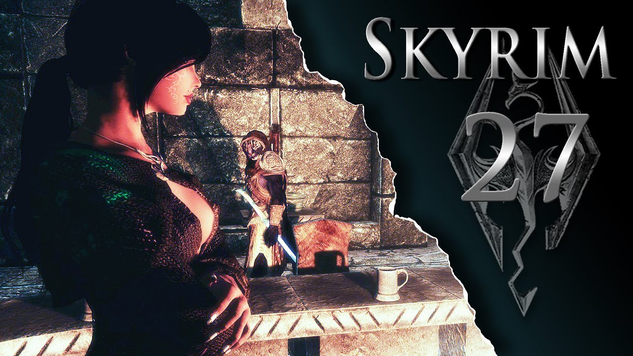 Skyrim Lets Play Modded Ep27 - Snow Wings