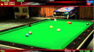 Virtual Pool 3 Gameplay | 9Ball (PC HD)