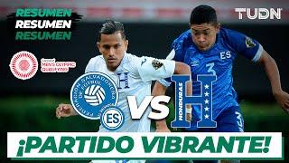 Resumen y goles   El Salvador vs Honduras   Preolímpico Tokyo 2020   TUDN