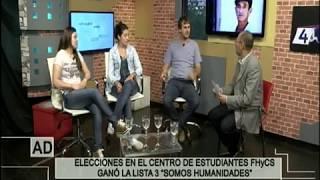 CENTRO DE ESTUDIANTES FHyCS   ACTUALIDAD DIARIA 16 11