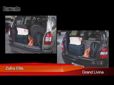 Vdeo Comparativo Grand Livina X Zafira Elite Youtube