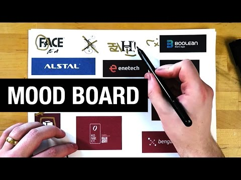 How To Mood Board For A Logo Design