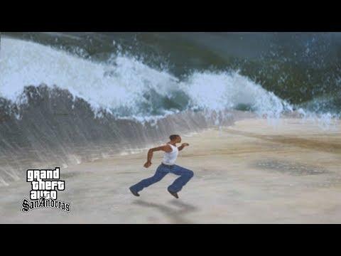 Tsunami Besar Kampung Ucok - GTA San Andreas Dyom