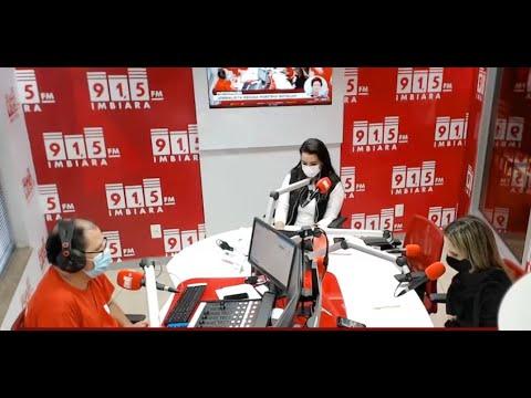 Entrevista secretária de Saúde de Araxá Lorena de Pinho - Vacinação da Covid-19