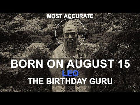 Born On August 15 | Birthday | #aboutyourbirthday | Sample