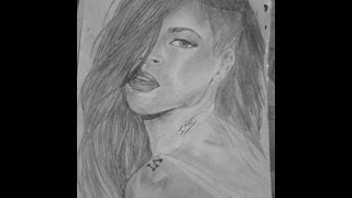 Rihana quick drawing