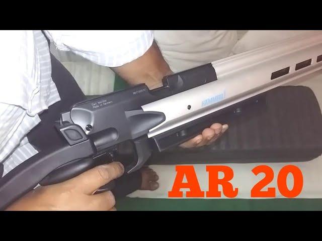 Hammerli AR 20  Air Rifle. | Cheap and Best peep sight air rifle for match.