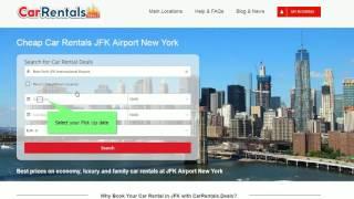Car Rental Deals at New York JFK Airport