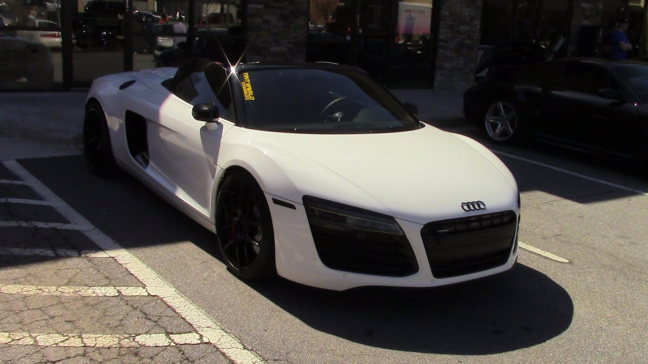 AUDI R8 CONVERTIBLE AND R8 HARDTOP!   YouTube